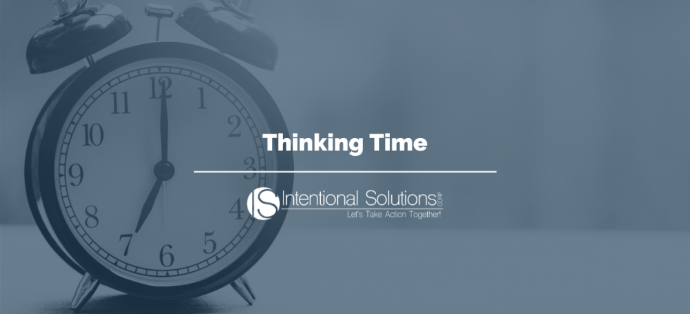 Time management tips and tricks thinking time